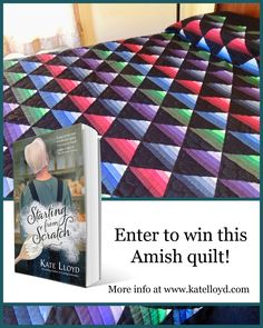Good luck to all who enter! #amishfiction #amishauthors #quilts