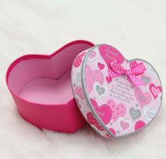 Cajas en carton corrugado en forma de corazon - Imagui