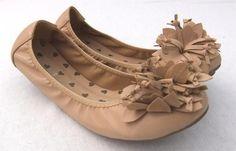 #FLUER BEIGE LEATHER FLAT   #flat shoes #2dayslook #maria257893 #fashionshoes  www.2dayslook.com