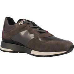 hippe Geox d shahira a dames sneakers (Bruin)