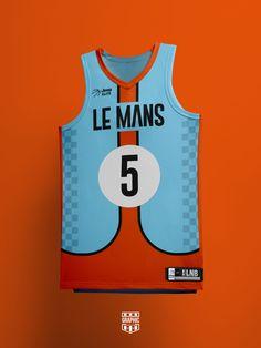 Basketball Uniforms, Basketball Jersey, Basketball Design, Le Mans, Volleyball, Jeep, Football, Graphic Design, City