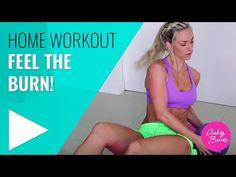 Ashy Bines Home Workout - Feel the Burn - YouTube