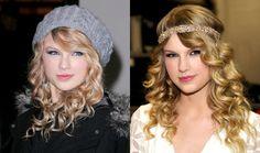 Taylor Swift Wearing a Headband