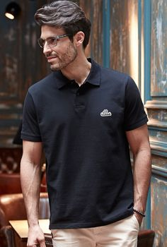 Black Poloshirt from REX WEAR! - Great Design and high quality clothing