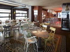 Pisacco restaurant bar milan restaurant drawings mekanlar pinterest - Restaurant starck puces ...