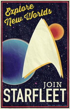 Star Trek: Join Starfleet Art Print by Brianna Hoftun