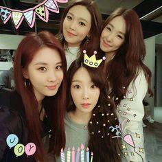 Taeyeon, Seohyun, Sooyoung, Tiffany ❤