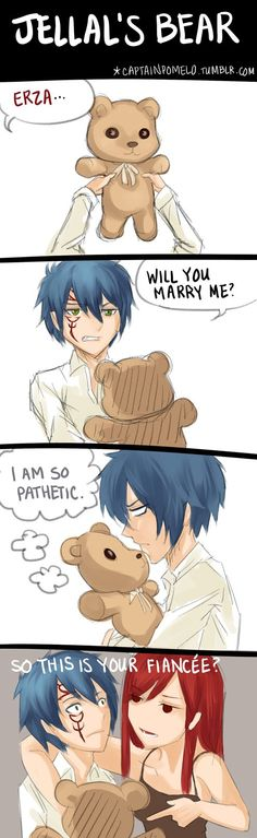 Jellal's Bear by creepyfeet on DeviantArt