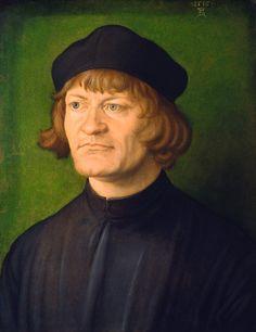 Portrait of a Clergyman (Johann Dorsch?), 1519, Albrecht Dürer (1471-1528)