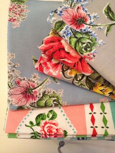 Vintage tablecloths from my collection