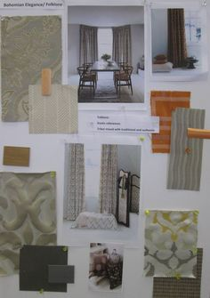 Folklore - Hillarys - We have been making mood boards demonstating how you can use some of our lovely product!