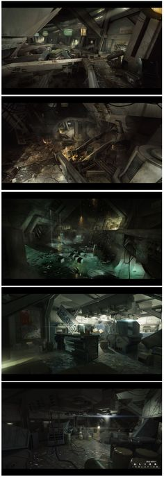 Alien Isolation concept art 33 by bradwright.deviantart.com on @deviantART