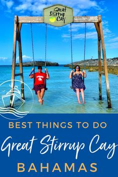 Updated for If yo have plans to visit this newly updated private island, check out our list of the best things to do in Great Stirrup Cay, Bahamas. Cruise Checklist, Packing List For Cruise, Cruise Tips, Cruise Travel, Cruise Vacation, Bahamas Vacation, Bahamas Cruise, Travel Destinations