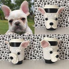 French Bulldog Mug (Cozy) - French Bulldog Gifts - Frenchie - Frenchies - Gift for Her - Pet Mom - Dog Mom Gift - Dog Mom - Hooked by Angel