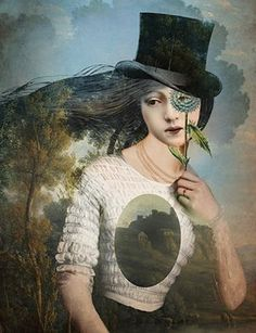 """Portrait 11 with Hat"" Picture by Catrin Welz-Stein posters, art prints, canvas prints, greeting cards or gallery prints. Find more Picture art prints and posters in the ARTFLAKES shop. Framed Wall Art, Wall Art Prints, Frida Art, Image Originale, Arte Pop, Pop Surrealism, Wassily Kandinsky, Surreal Art, Conceptual Art"
