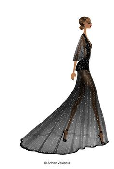 Draw Adrian, Draw!: Met Ball 2014. Illustrated...
