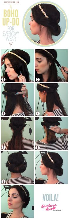 Personally, I'd stop at mid tutorial & keep that hairstyle