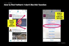 SOURCE: Twitter App Screenshots