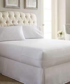This Home Collection ™ Bed Bug & Liquid Proof Mattress Protector by iEnjoy Bedding is perfect! #zulilyfinds