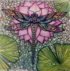 Fabulous Drawing On Creativity Ideas. Captivating Drawing On Creativity Ideas. Dragonfly Art, Dragonfly Tattoo, Coloring Book Pages, Adult Coloring, Illustration, Fantasy Art, Art Projects, Artsy, Drawings