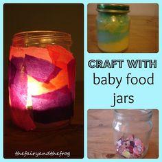 Craft with babyfood jars
