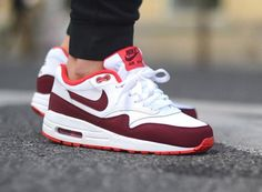 Nike Air Max 1 Essential White/Team Red