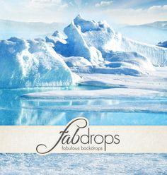 Fab Backdrops - Fab Drops Frozen Arctic Photography Backdrop  *** Got Backdrop Coupons? *** http://www.fabbackdrops.com/photography-backdrop-coupons/
