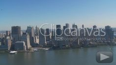 Check out this Aerial View Manhattan HD Stock Footage Clip. Tracking shot made at day. Extreme wide. 2009-11-22, UNITED STATES.