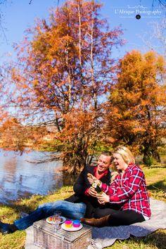 Michelle & Brad  winter picnic engagement  Awesome photo shoot Photographer Daniel Meyer