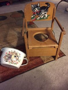 1000 Images About Chamber Pots And Potty Chairs On