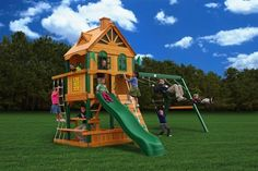 Gorilla Cedar Playset Riverview Swing set, Price: $2,200.00  (Current Special Price of $1,999.00!)