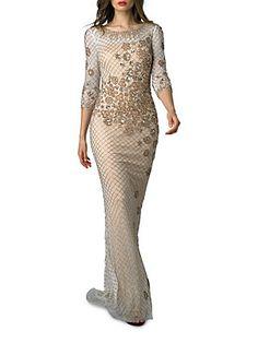 Basix Embellished Gown