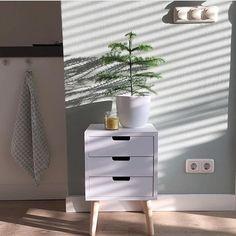 Tuesday inspiration!✨ Dit prachtige plaatje komt van @mijnhuisstijlenik, het kastje komt van de action en kost 18.95! Bedankt dat ik je foto mocht delen! #budgettip #budget #tuesday #kast #nachtkastje #bedroom #bedroominspo #interieur #home #instahome #pink #pastel #action #nightstand #lade #interior #interiordesign #witwonen #homedecor #greens #plant #christmas #tree #planten #urbanjungle  #wood #hout