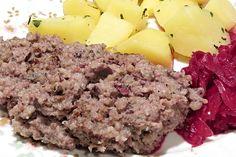 Recept na Domácí prejt bez zabíječky Mashed Potatoes, Ethnic Recipes, Meat Products, Food, Club, Whipped Potatoes, Essen, Yemek, Smash Potatoes