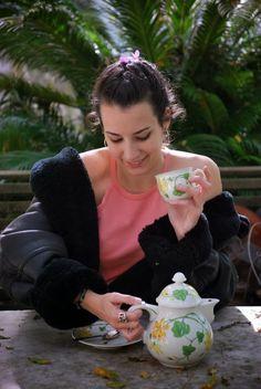 #tea #time #cup #teiera #vintage #montone #afternoon #greentea #tè #tazzina #giocodidonne #naimaamarilli