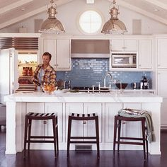 "I love this whole house, in the ""sophisticated surfer"" article of Coastal Living mag..."