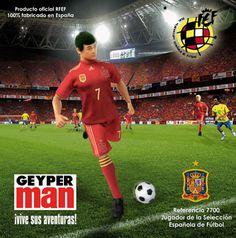 #Geyperman Selección Española de Futbol