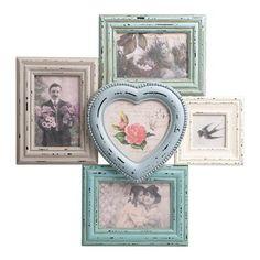 Delilah Heart 5 Aperture Photo Frame | ACHICA