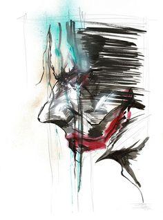 Original Acrylic Painting - The Joker - Street Artist ANTISTATIK - W.B.