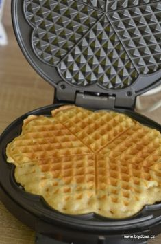 Vafle bez vajec, mléka a lepku Waffle Iron, Graham Crackers, Waffles, Low Carb, Gluten Free, Vegan, Cooking, Sweet, Kitchen