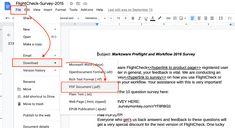 Desktop Publishing, Google Docs, Pdf
