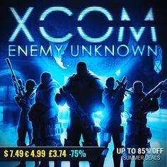 Sila Games summer sale #gamedeals XCOM: Enemy Unknown -75% Off $7.49 4.99 3.74 http://ift.tt/2uYXjXz #2k #pcgaming #pcgamer #gaming #siladeals