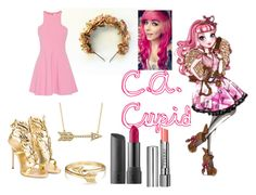 """""""C.A. Cupid Closet Cosplay"""" by thecrystalheart on Polyvore featuring Elizabeth and James, Giuseppe Zanotti, Bling Jewelry, Allurez, By Terry and Bite"""