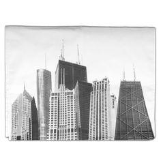 CAF Skyscrapers Dish Towel
