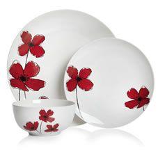 Poppy 12pce Dinner Set  sc 1 st  Pinterest & 12pc Poppy Dinner Set.Our popular Poppy design is now updated as a ...