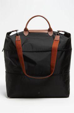 Longchamp 'Le Pliage' Expandable Travel Bag   Travel Bag
