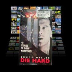 Die Hard VHS Tape Bruce Willis  NYC Crime VCR Movie