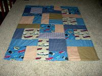 How to make a Quillow I love to give Quillows as gifts