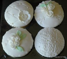Vintage Themed Wedding Cupcakes | Cupcake Ideas For You