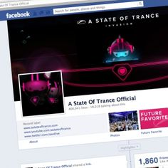 Not only is it the place where we keep you up to date on the latest releases of the A State of Trance label, it's also the place where you can find hot items, news, info and pictures regarding the ASOT shows, updates regarding the radio show and much, much more. A State of Trance is a worldwide movement, and we're proud to now have more than 400.000 friends on the official Facebook!